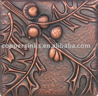 copper panels tiles