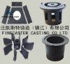 shot blast machine cast iron plate be treated in wear resistant and anti abrasive