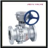 Cast Steel Worm Wheel Flanged Floating Ball Valve