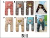2011 new 100% hotsale baby supply of colourful baby busha pants B