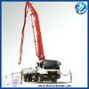 HDT boom concrete pump truck