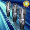 Steel body PDC water well drilling bit