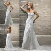 Drop shipping elegant sheath style sweetheart backless lace wedding dresses