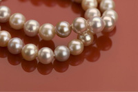 High Quality Round bead pearls strands about 6mm