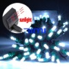 Solar Powered 60 LED Christmas String X'mas White Light