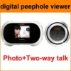 digital peephole door viewer, taking picture with SD card