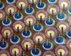 100 cotton printed real waxbatik fabric vertible wax printing
