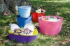flexible tubtrug,husehold water buckets,mop buckets food grade plastic