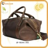 captain's grained leather holdall bags