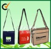 Two-Tone Value Nonwoven Messenger Bag