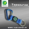 Mini Cheap PG3022 Carabiner with compass & key ring