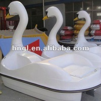 2 Seats wonderful design Swan pedal boat