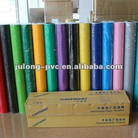 Catpiano self- adhesive color pvc cutting vinyl