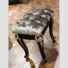 Elegant bedroom furniture antique small wooden stool YT-201