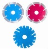 Diamond blades for cutting granite