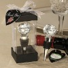 Heart Crystal Wine Stopper For Wedding Gift
