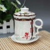 chinese style ceramic tea cup and mug