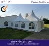 5x5m aluminium pagoda tent
