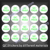 QC Stickers,QA Labels,QC Passed Labels with Different Materials