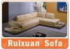 New Model Leisure L shape leather sofa C2226