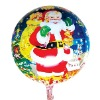 Automatic sealing Santa Claus foil balloon