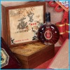 elegant popular handmade natural wooden box