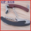 (OP-0228) Plastic Handle Corkscrew Wine Bottle Opener