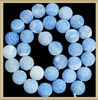KJL-AG2561 Wholesale beads,Light Sky Blue Frosted Agate Round Beads 12mm