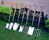 stainless steel spade, Fork, shovel, transplanter