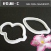 Flower Embossing Cutter-Fondant tools for flowers