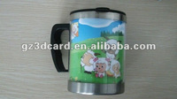 New fashional 3D children cup 3D drinking cup