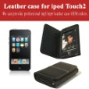 leather case for ipod Touch
