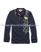 Fashional children tshirt 100%cotton polo