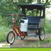 500w Rear motor power rickshaw