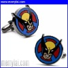 Fashion stainless steel Wolverine Cufflinks (ML-12-YO1030-001)