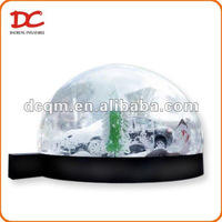 Beautiful Super Large White Snow Inflatable Snow Globe