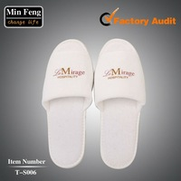 white disposable slipper for hotel T-S006