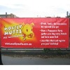 Double side printing banner for billboard