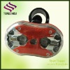 LED bicycle tail light with 2AA