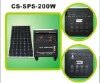solar home system 200w/18v for flexible using (SGS-200W)