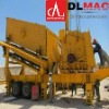DINGLI high efficiency mobile crusher with ISO9001:2008