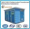 10kv high voltage transformer prefabricated transformer mobile distribution substation
