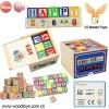 2012 Toy New Wooden ABC Blocks For Children