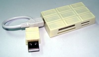 usb card reader Chocolate