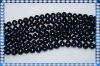 9-10mm Potato Shape Black Loose Pearl Strands