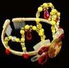 Fashion plated party plastic tiara/ fashion princess crown