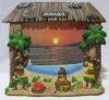 Jamaica souvenirs 3D Dancers resin frame