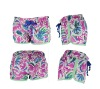printed 100% polyester micofiber ladies customized board short