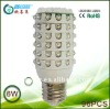 360 degree e27 6w corn led lamp