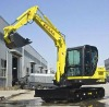 6 ton chinese mini crawler excavator with yammar engine(XCMG brand)